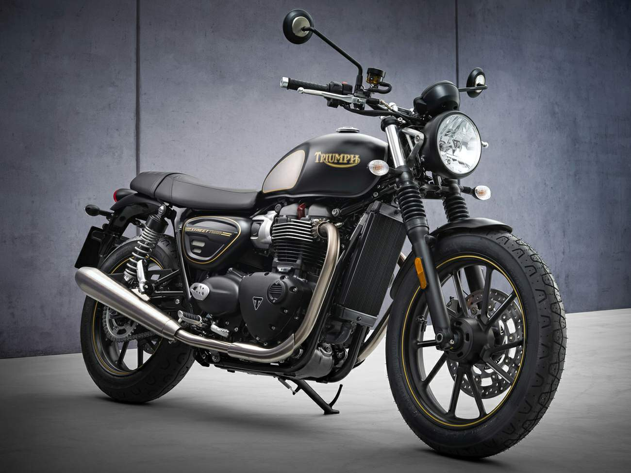 Triumph Street Twin Gold Line technical specifications